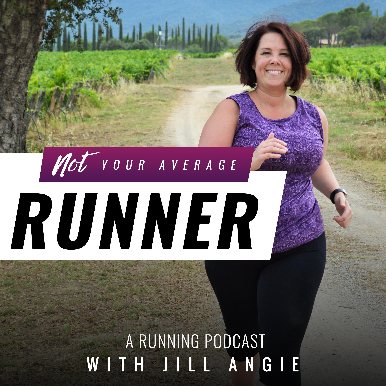 Not Your Average Runner, A Running Podcast show art