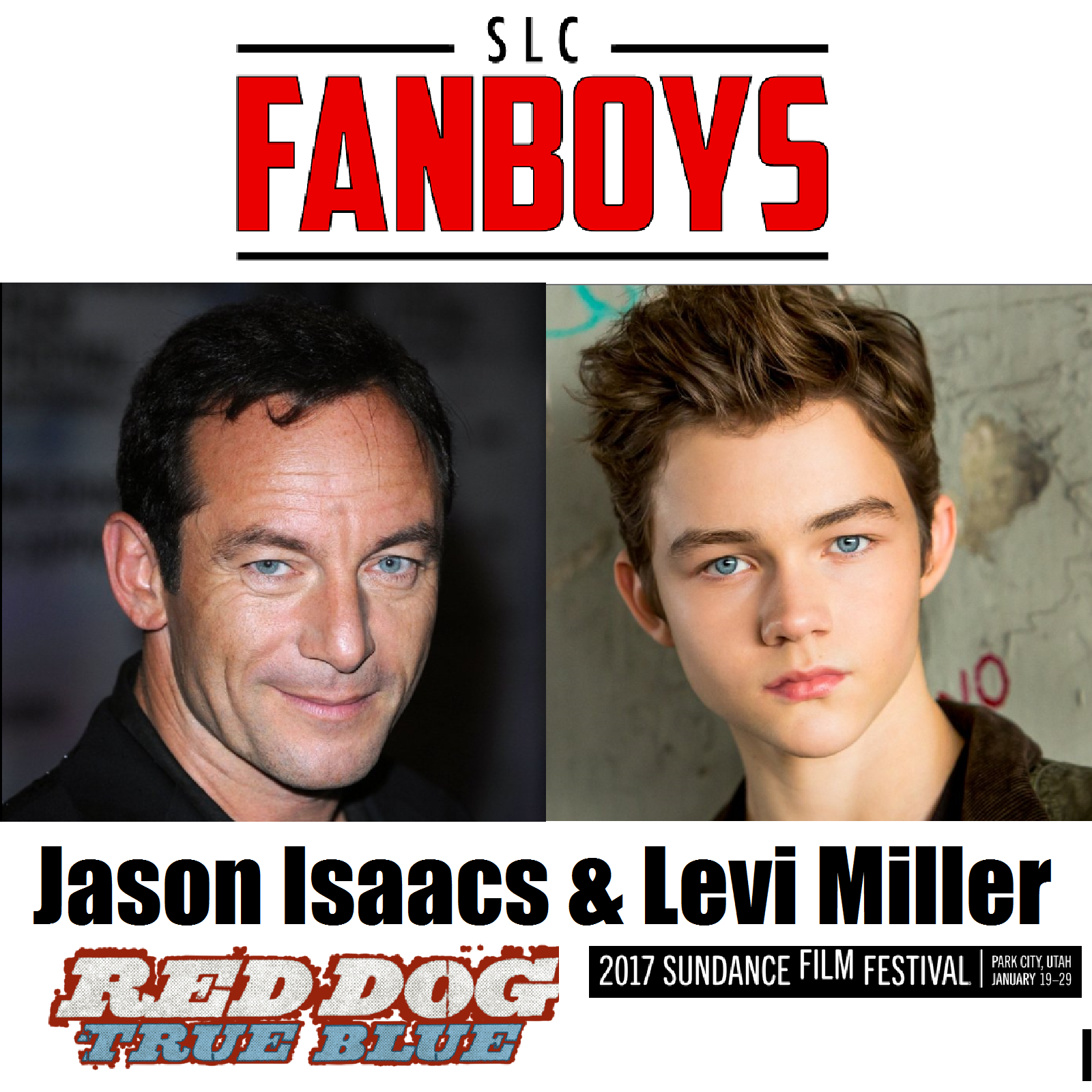 Artwork for Sundance Interview with Jason Isaacs and Levi Miller