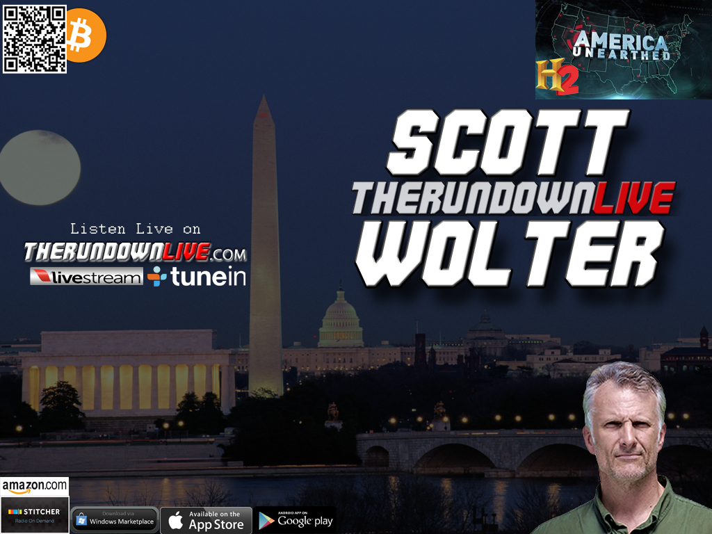 The Rundown Live #233 Scott Wolter (Hidden History,Tombs,Rune Stone,Facts)
