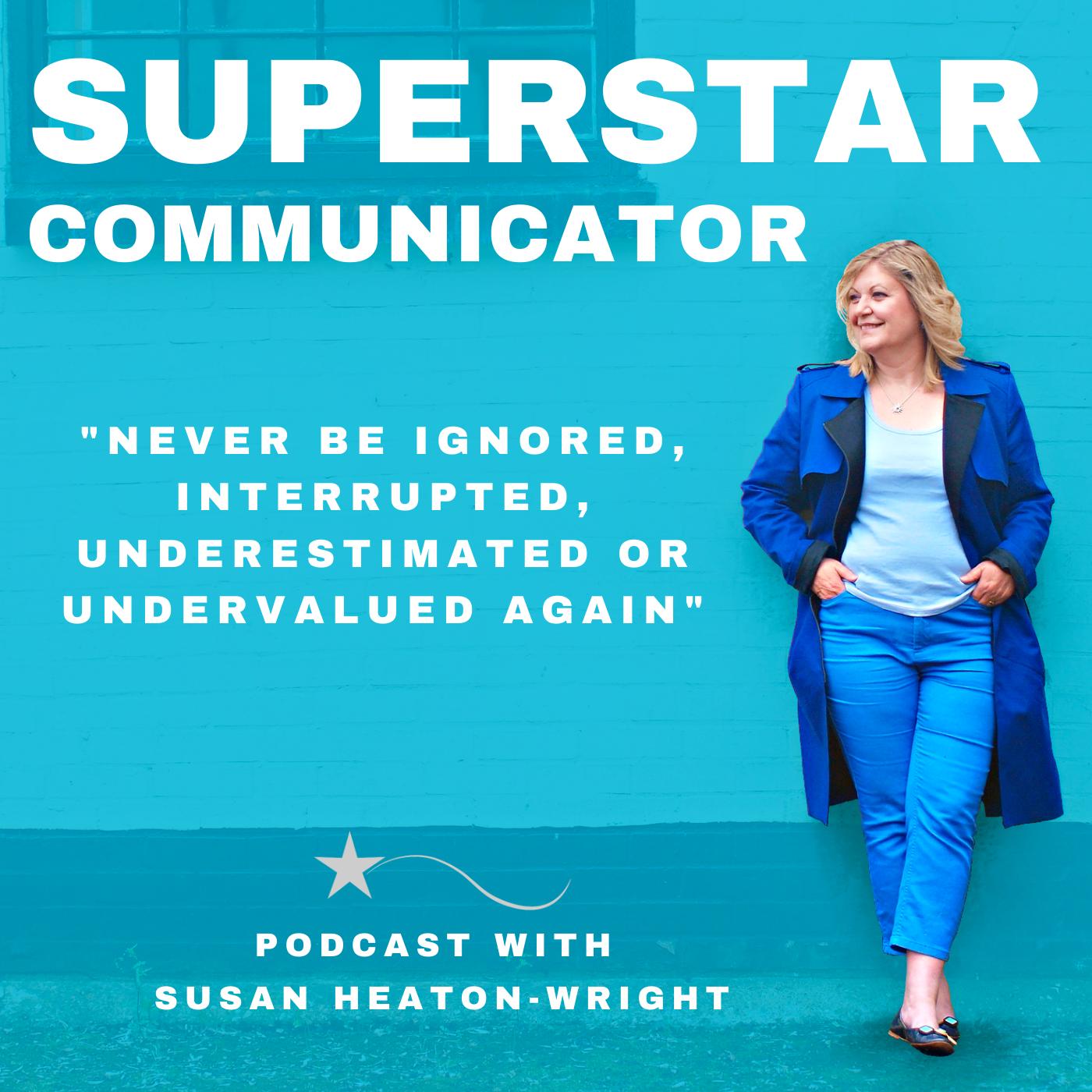 Superstar Communicator podcast show art