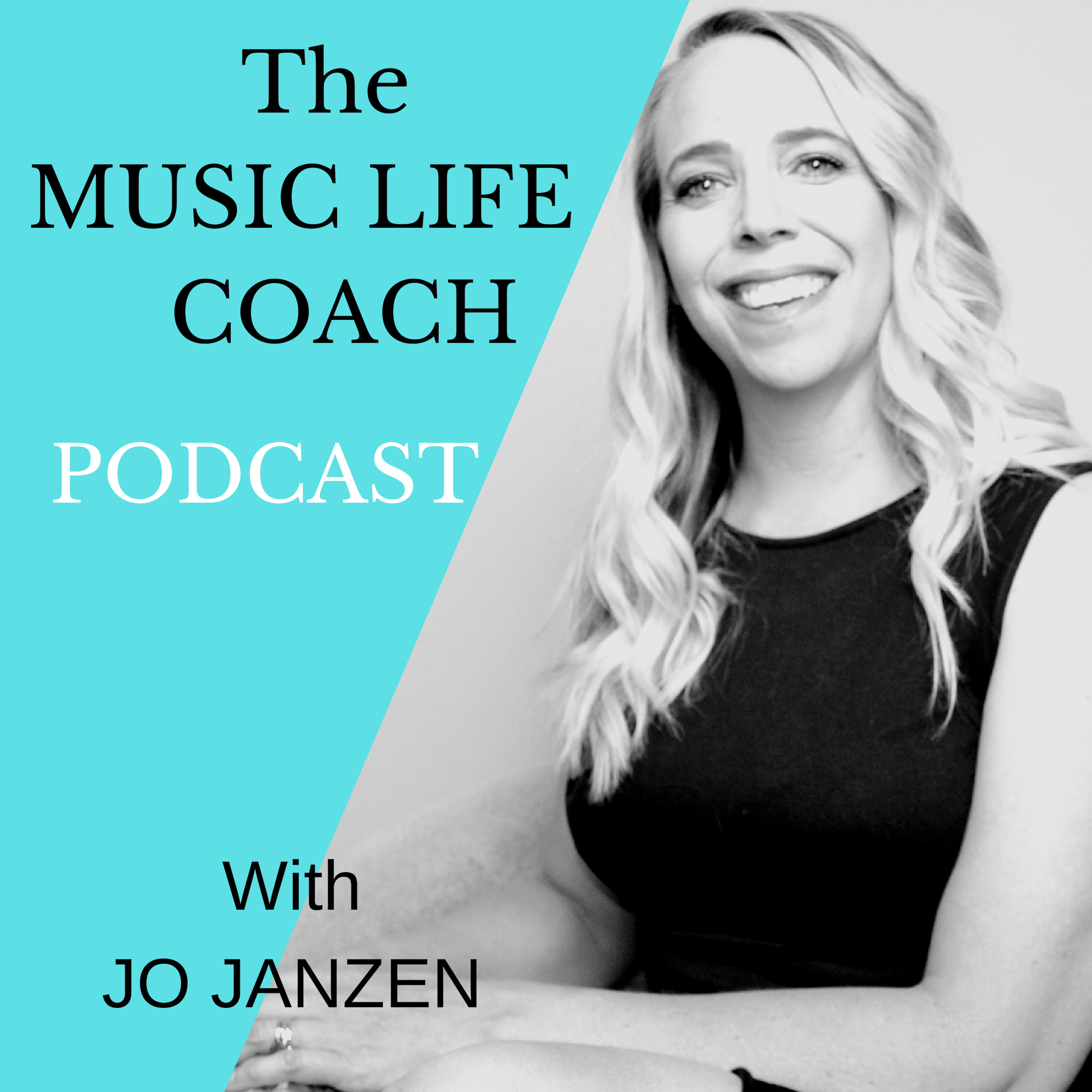 The Music Life Coach Podcast show art