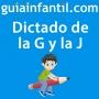 Artwork for Dictado corto y divertido sobre la G y la J para mejorar la ortografía de los niños