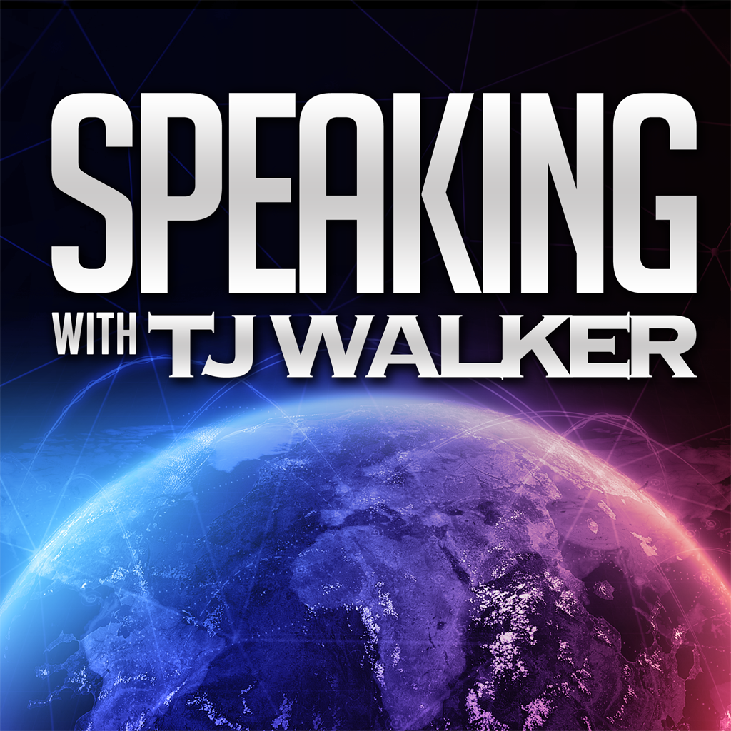 Speaking with TJ Walker - How great leaders communicate through the media, public speeches, presentations and the spoken word show art