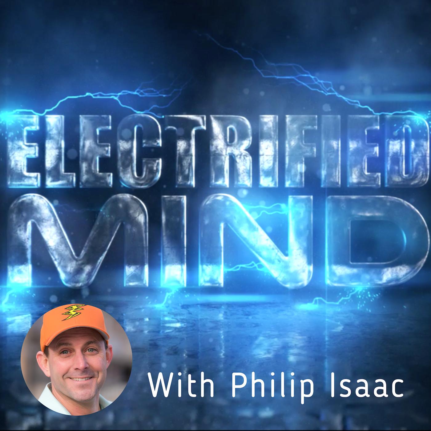 Electrified Mind Podcast show art