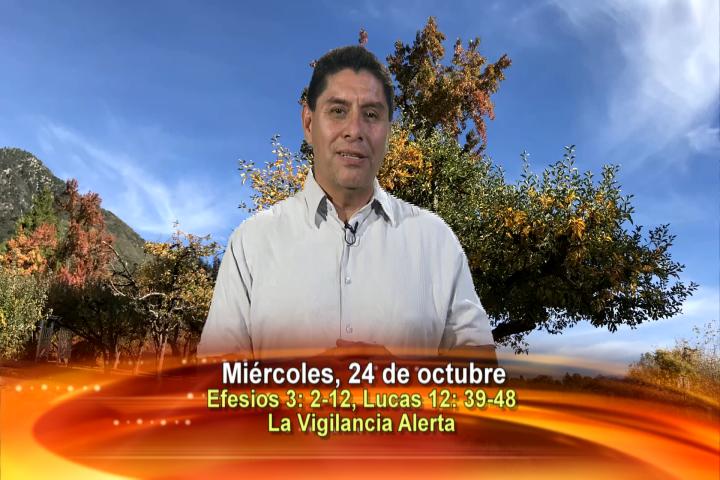 """Artwork for Dios te Habla con Dn. Alfredo Vargas; Tema el hoy: """"La vigilancia alerta""""."""
