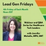 Artwork for How to Identify Gaps in Your Healthcare IT Marketing Strategy - #LeadGenFriday