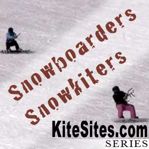 Snowkiters on Snowboards:  The U.S. titles