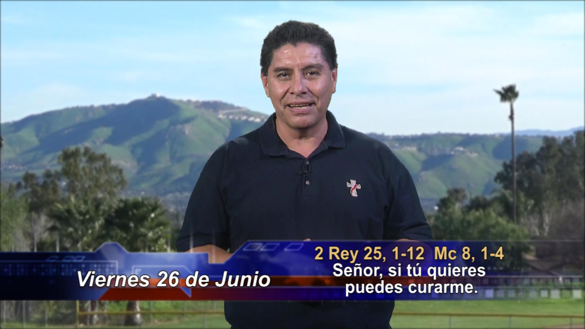 """Artwork for Dios te Habla con Dn. Alfredo Vargas; Tema de hoy: """"Señor si tú quieres puedes curarme""""."""