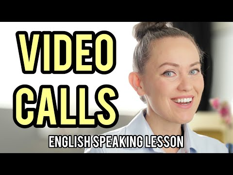 "How to Start and End a Video Call 👉(Don't Say ""BYE!"") English Speaking Lesson"