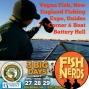 Artwork for Podcast 137 Vegan Fish, New England Fishing Expo, Guides Corner and Boat Battery Hell