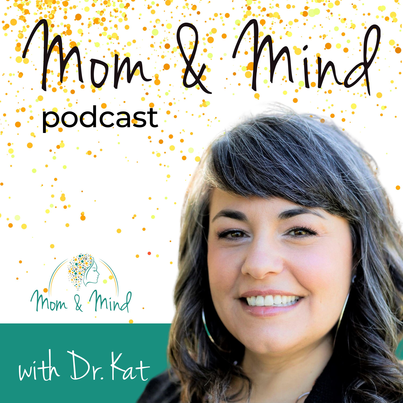 Mom & Mind for Pregnancy and Postpartum Mental Health show art