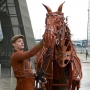 Artwork for Tommy Luther on the UK tour of War Horse