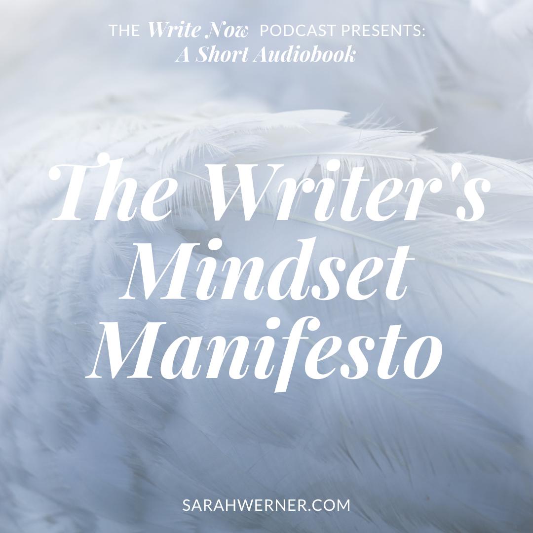 The Writer's Mindset Manifesto - Audiobook show art