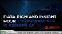 Artwork for Data Rich and Insight Poor – Transforming Data into Information
