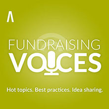 Artwork for RNL Fundraising Voices - Katherine Lisciani talks Millennial engagement