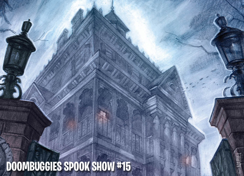 "DoomBuggies Spook Show Episode 15: Joshua Williamson on Marvel's ""The Haunted Mansion"""