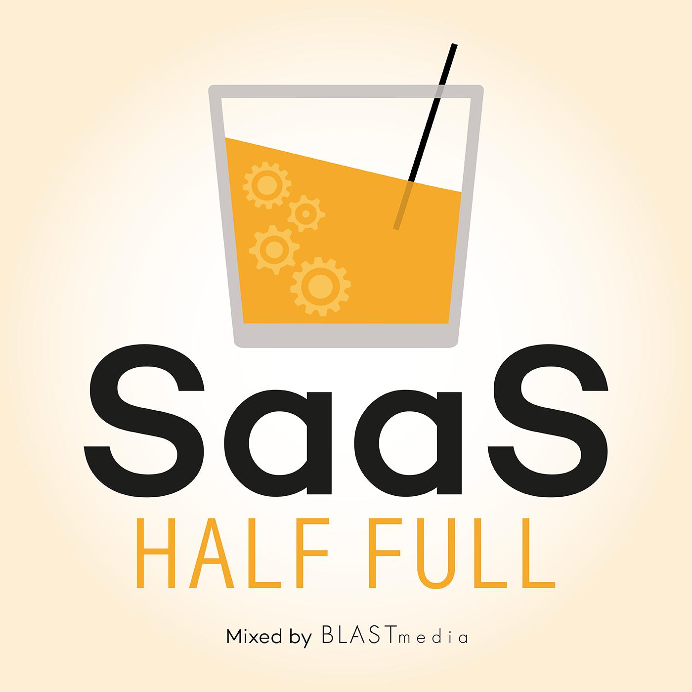 SaaS Half Full show art
