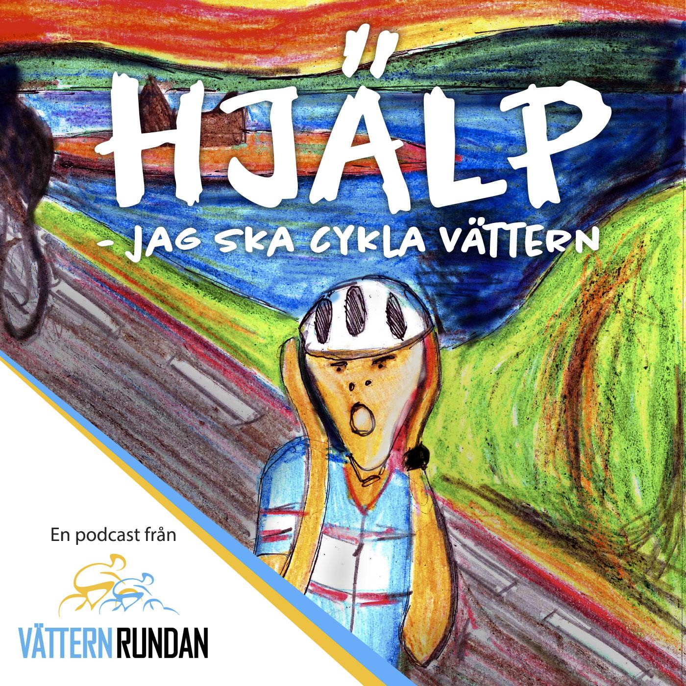 Artwork for Hjälp! Jag ska cykla Vättern – S02E08