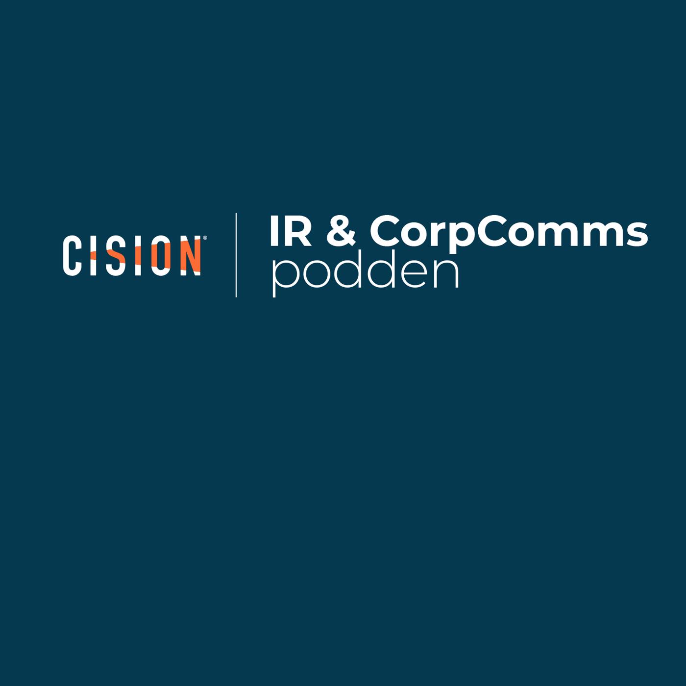 IR & CorpComms-podden show art