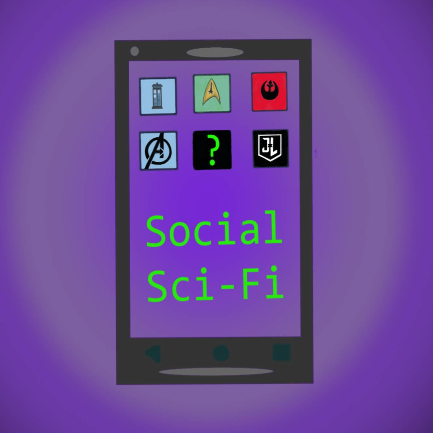 The Social Sci-Fi Podcast show art