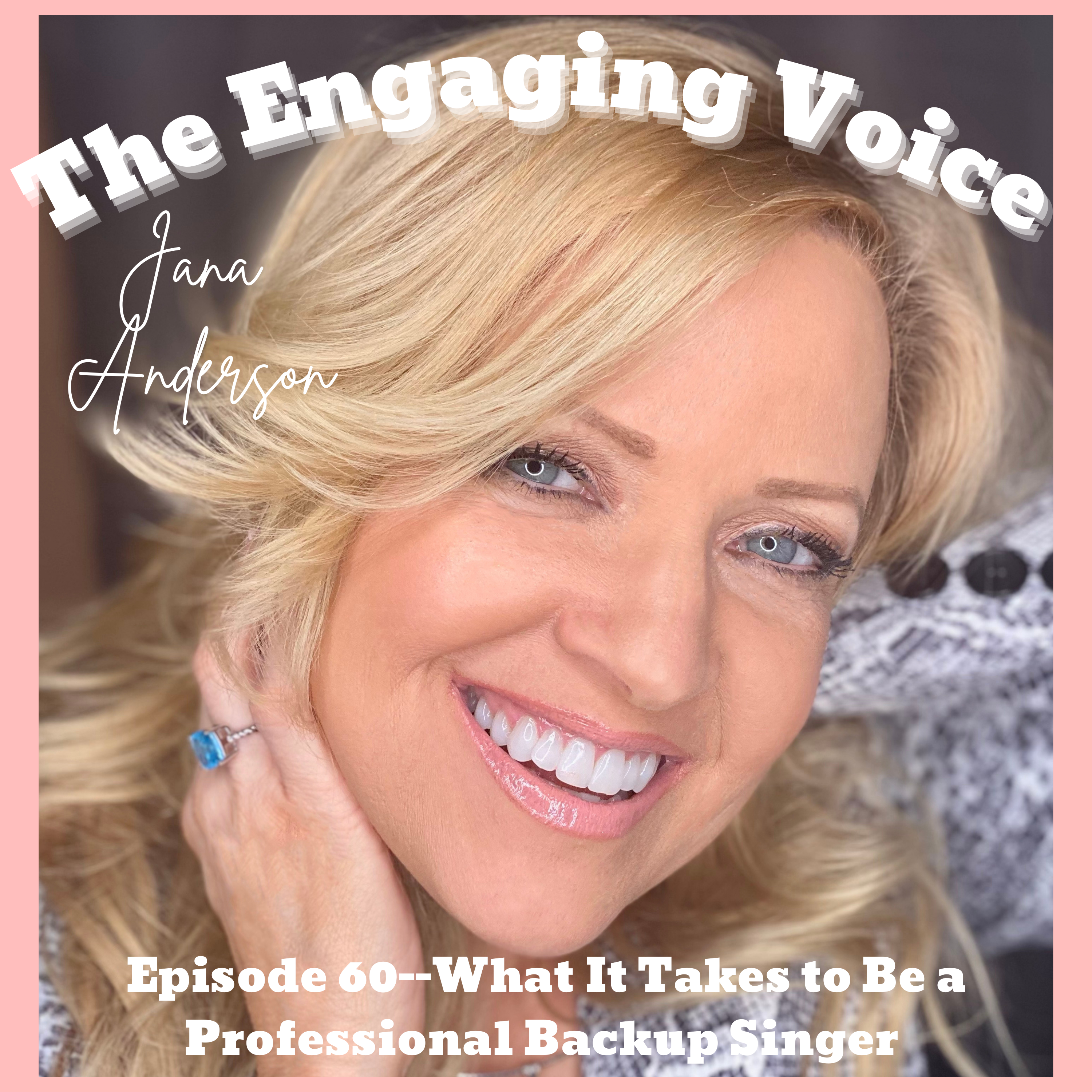 Jana Anderson | What It Takes to Be a Professional Backup Singer