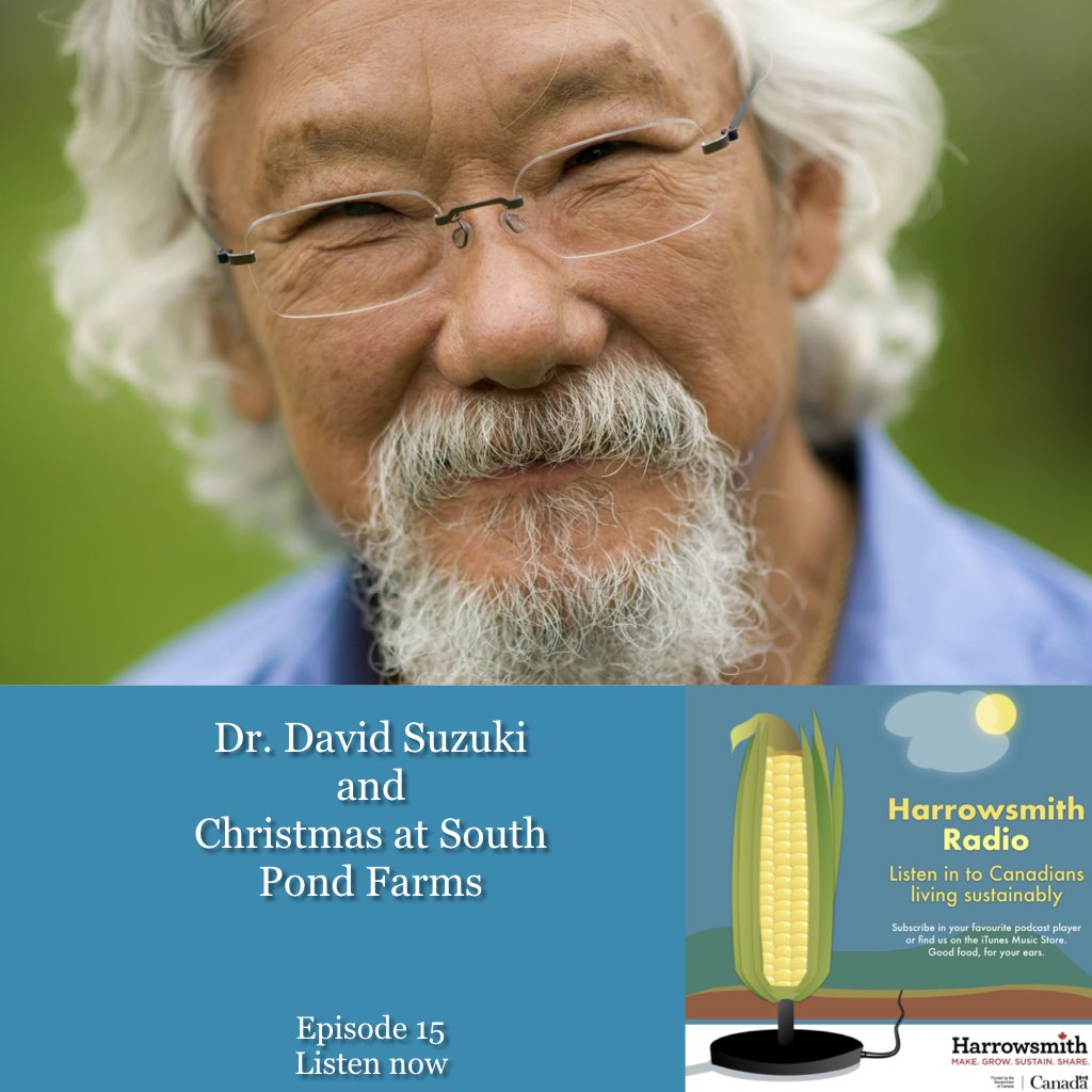 Dr. David Suzuki and the Christmas Walking of the Goats
