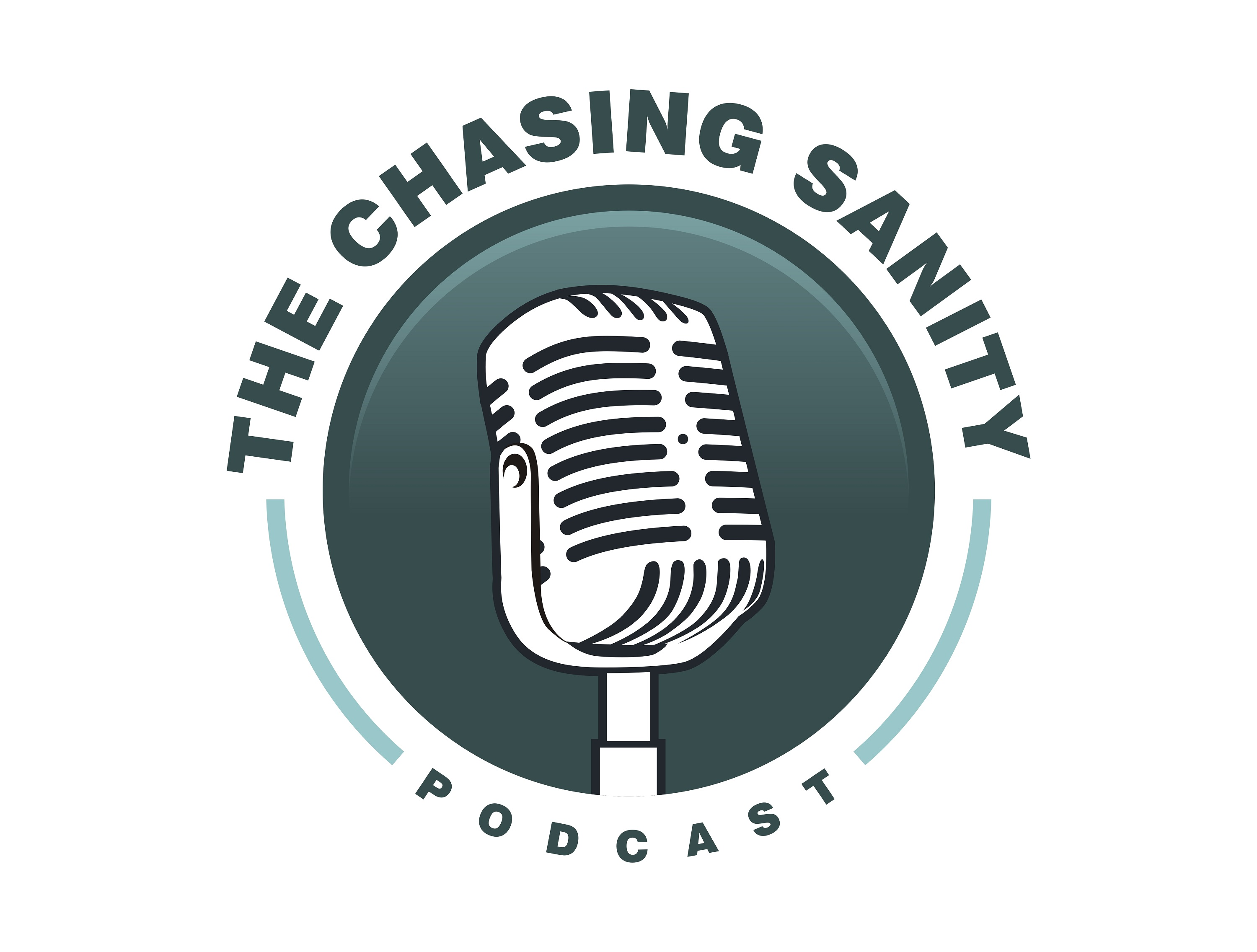 The Chasing Sanity Podcast show art