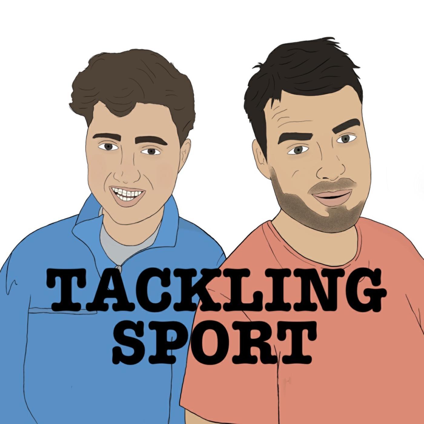 Tackling Sport show art