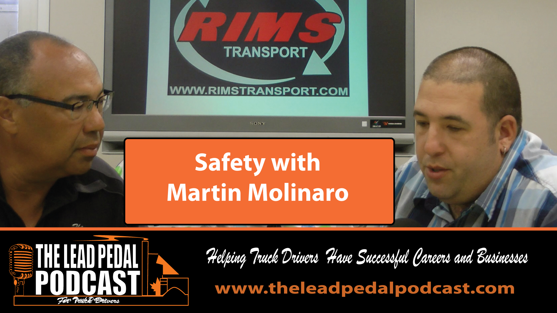 Safety for Owner Operators with Rims Transport