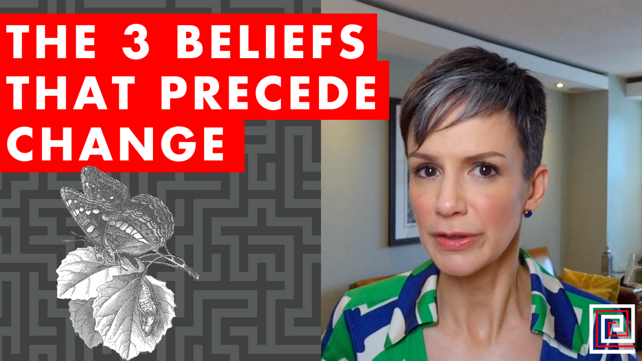 Artwork for EP076: The 3 Beliefs That Precede Change