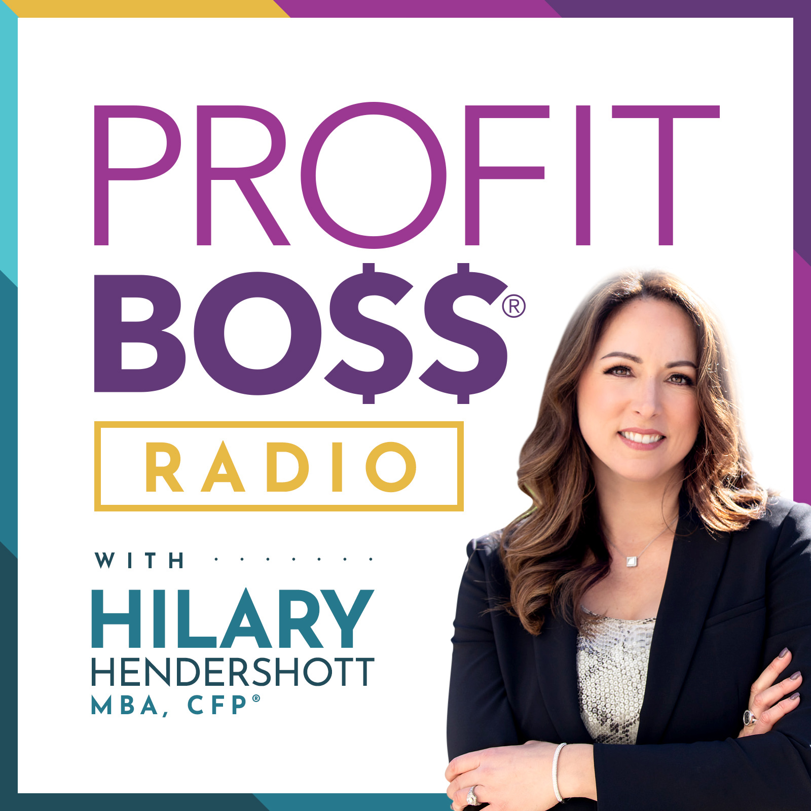 Profit Boss® Radio - THE Podcast for Women and Money show art
