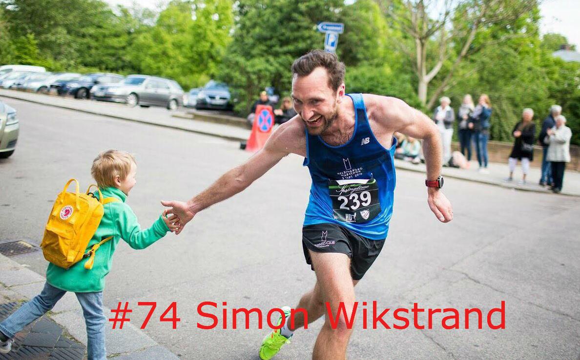 #74 Simon Wikstrand