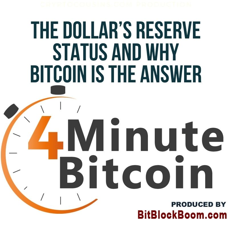 The Dollar's Reserve Status And Why Bitcoin Is The Answer