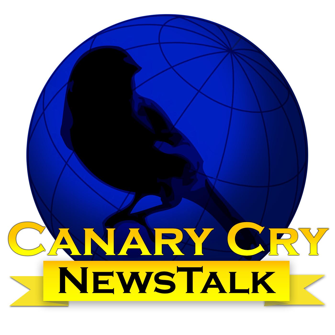 Canary Cry News Talk show art