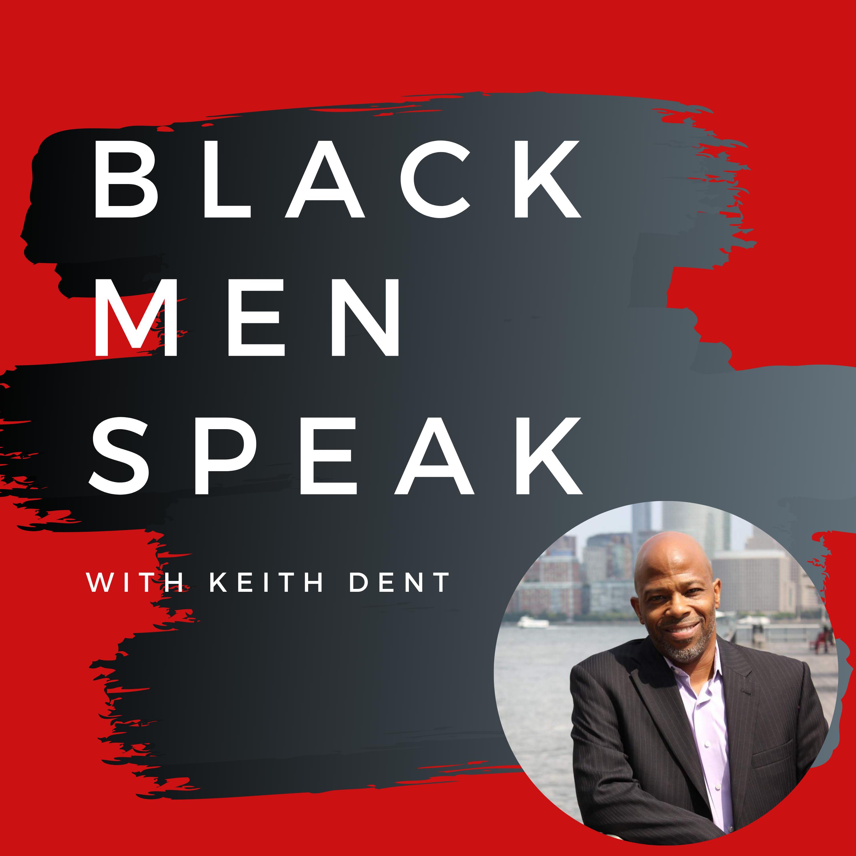 Black Men Speak Podcast show art