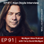 Artwork for EP 91 | Alan Doyle Interview