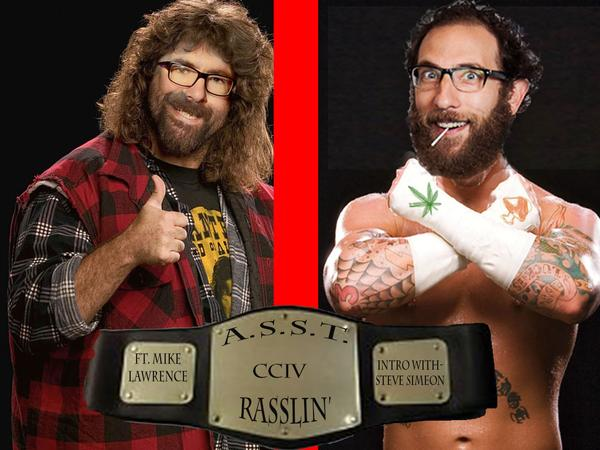 #204: Rasslin' (@TheMikeLawrence, @SteveSimeone)