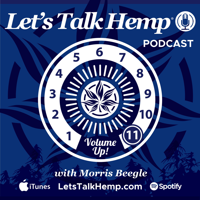 The Let's Talk Hemp Podcast show art