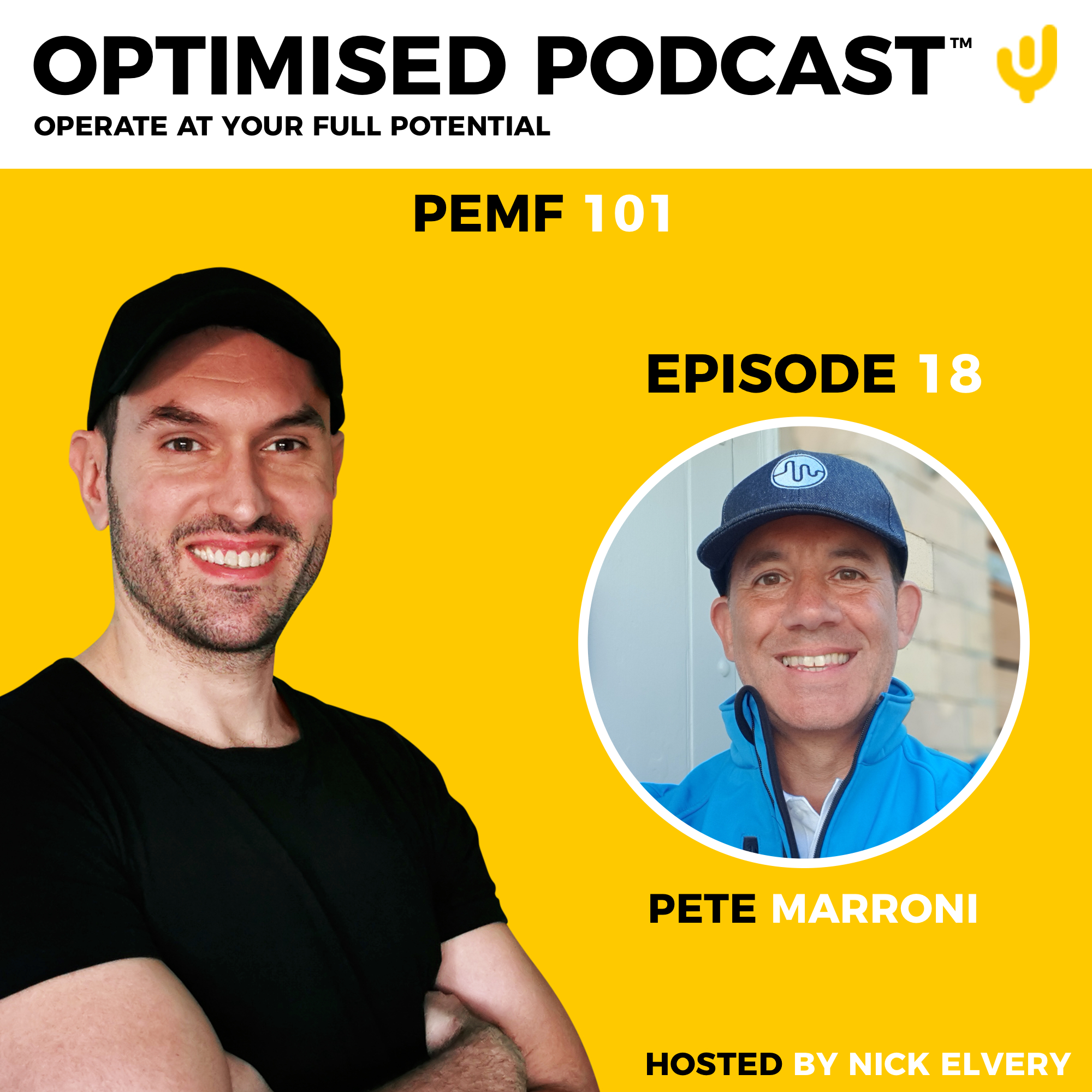 #18 – PEMF 101 with Pete Marroni