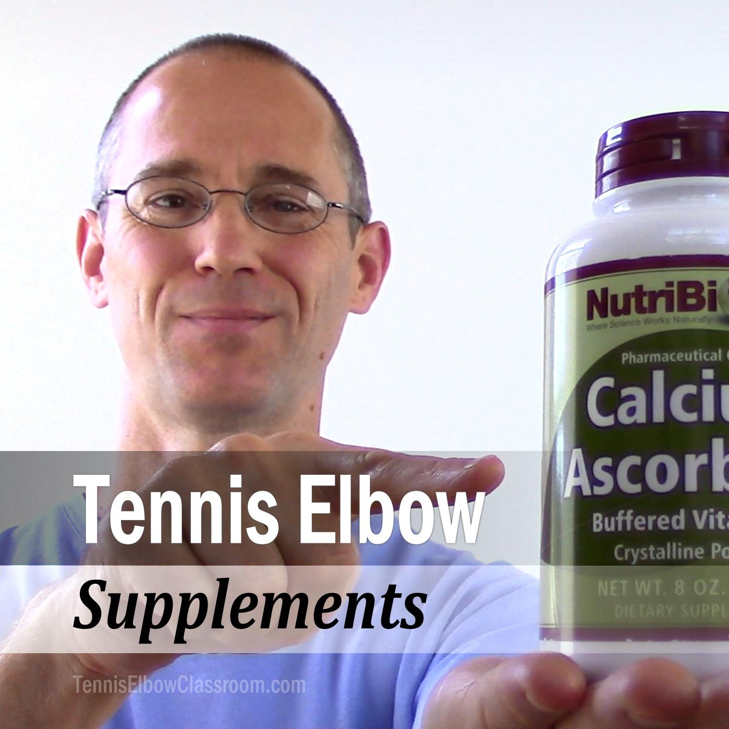 Supplements for Tennis and Golfer's Elbow