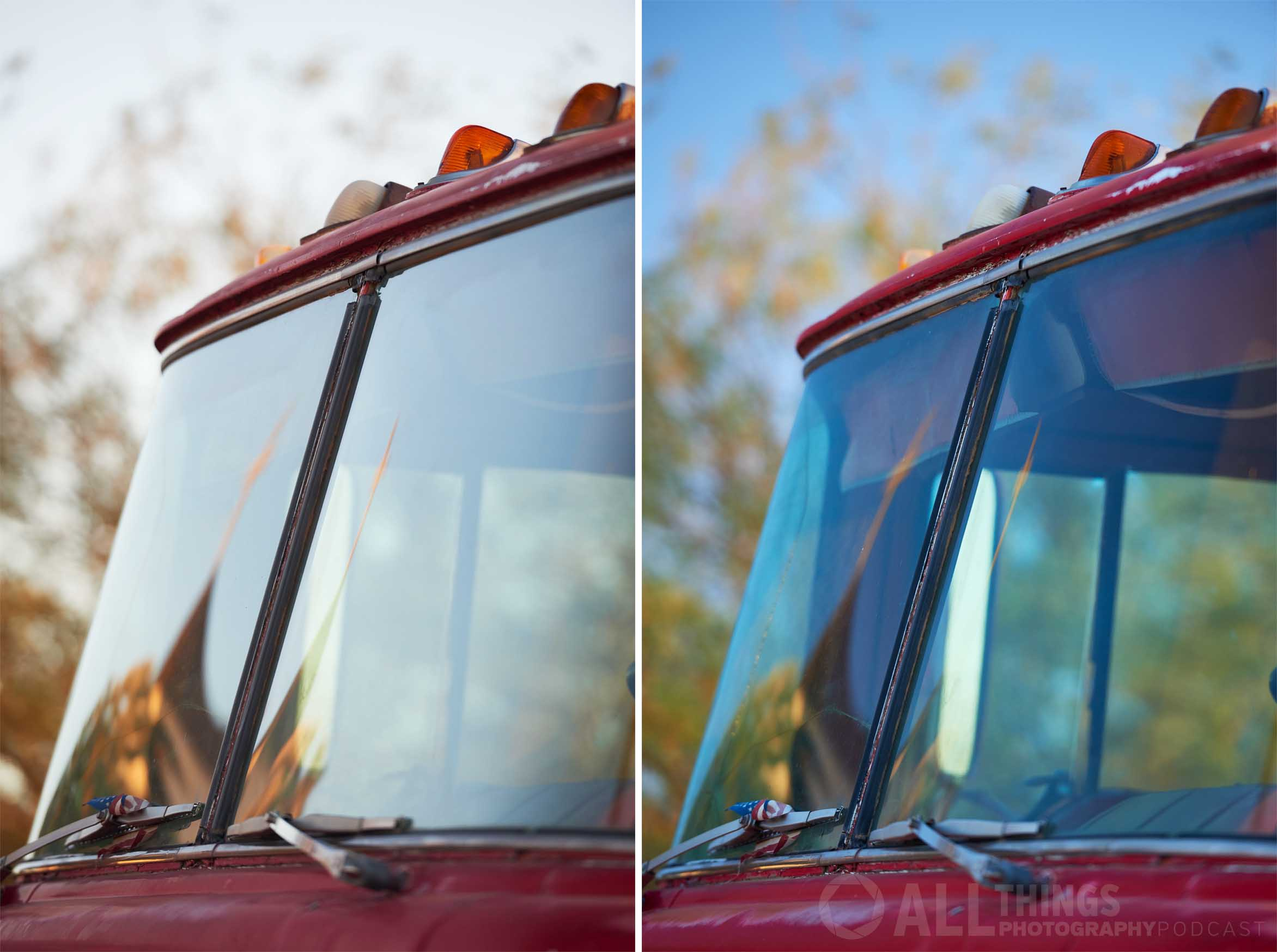 fire truck polarized
