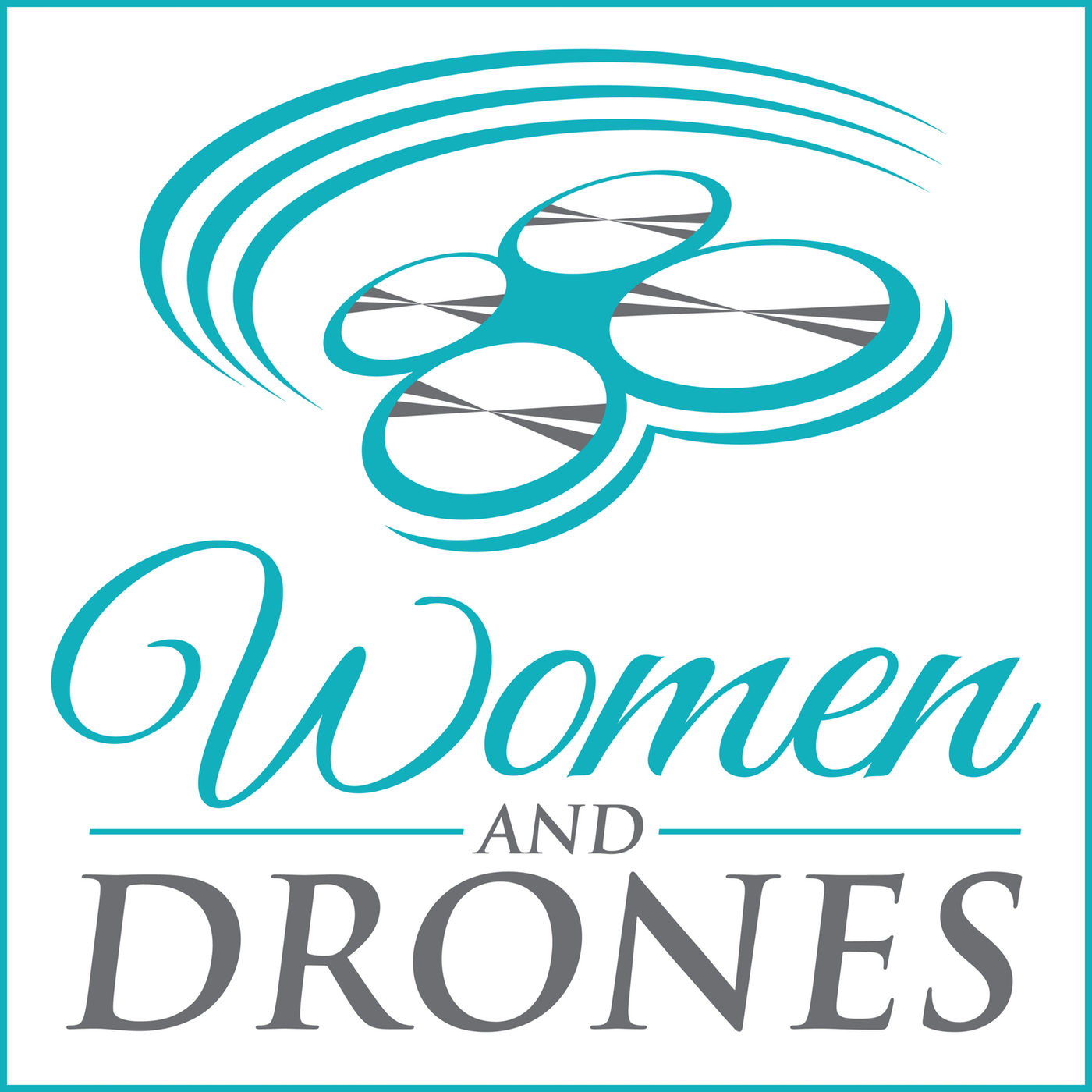 Women And Drones show art