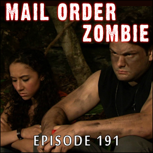 Mail Order Zombie #191 - Blaming George Romero, Resident Evil: Retribution & William F. Nolan and James Beach
