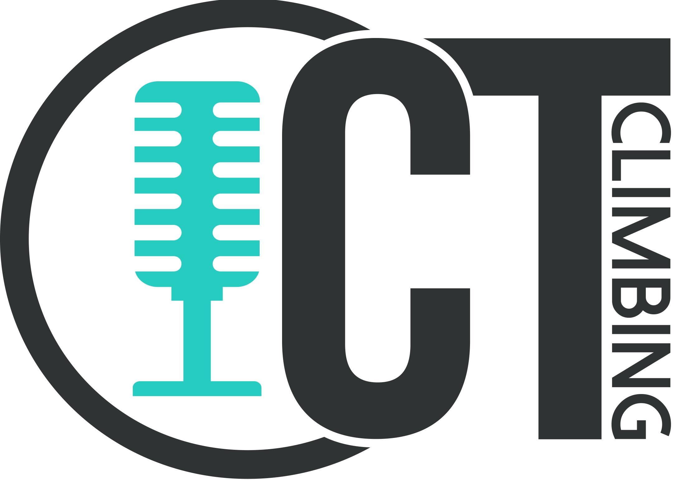 Chalk Talk Climbing Podcast logo