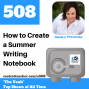 Artwork for How to Create a Summer Writing Notebook