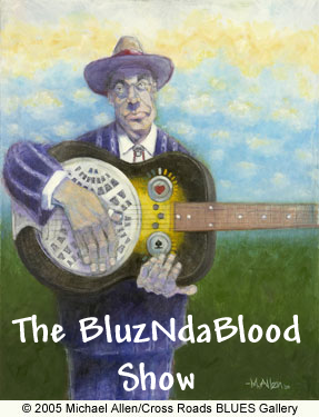 Artwork for The BluzNdaBlood Show #236, St. Paddy's Blues!