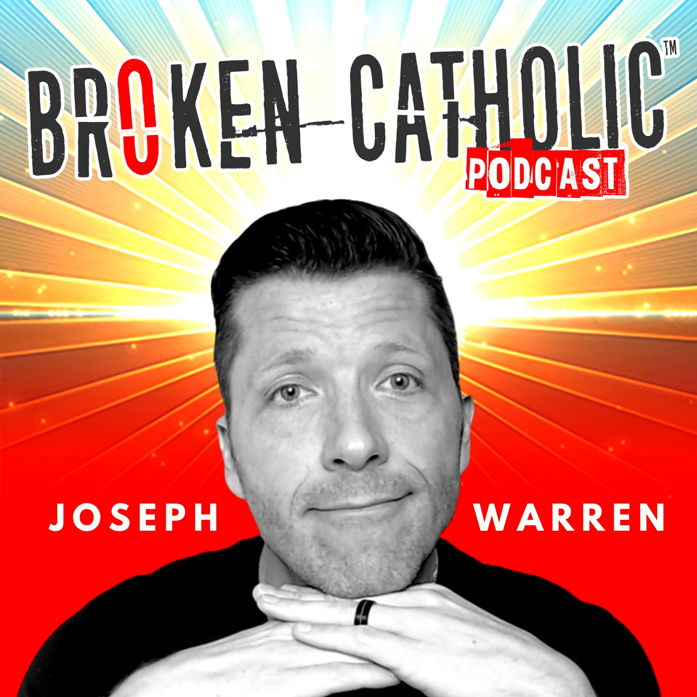 THE BROKEN CATHOLIC SHOW - Life Coaching, Online Church, & Spiritual Growth for Christian Men and Women show art