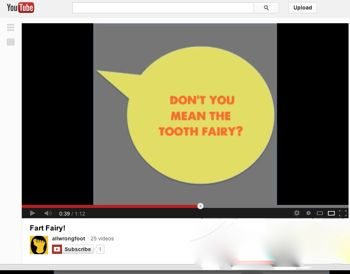 YouTube Promo for Show 76, The Fart Fairy!