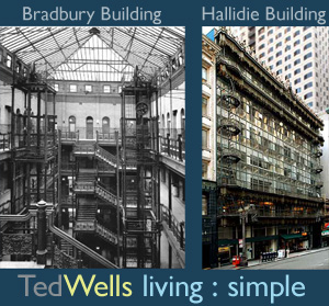 Bradbury Building & Hallidie Building: Architecture One Hit Wonders