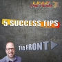 Artwork for 5 Success Tips | The FRONT